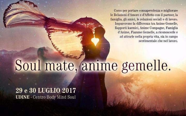 SOUL MATE, ANIME GEMELLE - Seminario di Theta