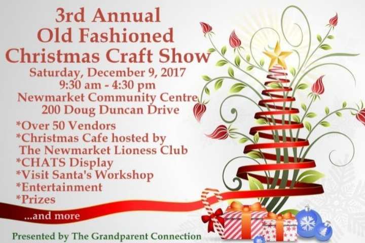 3rd Annual Old Fashioned Christmas Craft Show