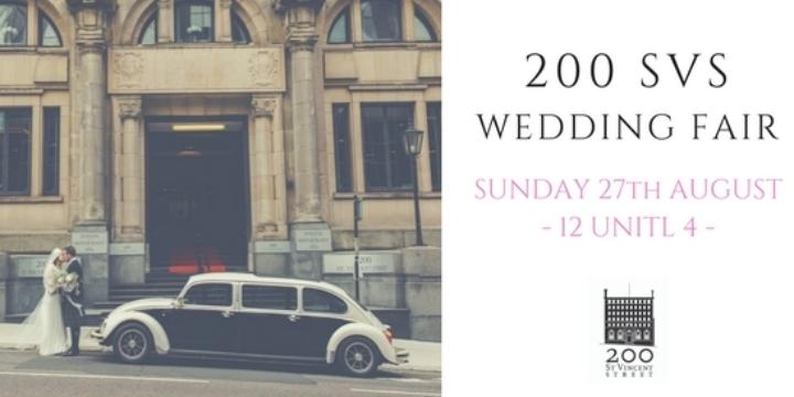 Wedding Fair at 200 St. Vincent STreet