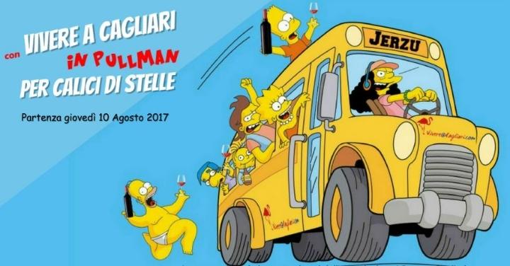 VIVERE A CAGLIARI… IN TOUR: IN PULLMAN A JERZ