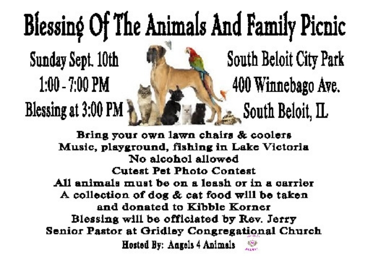 Blessing of the Animals & Family Picnic