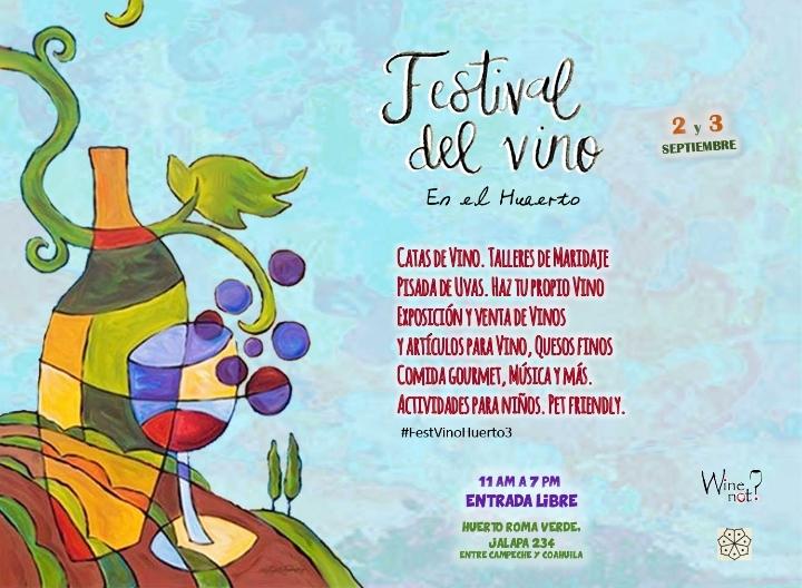 FESTIVAL del VINO en el huerto WineNot