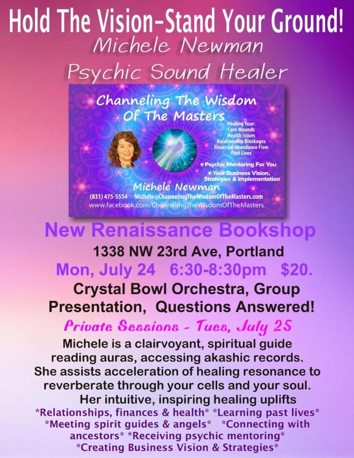 Psychic Sound Healer - Michele Newman