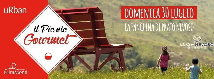Ilpicnicgourmet a Prato Nevoso - Panchina dei