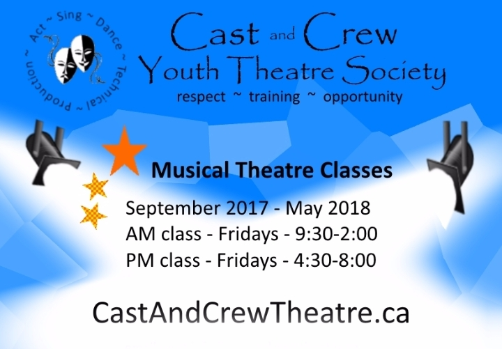 Musical Theatre Registration - Youth Classes