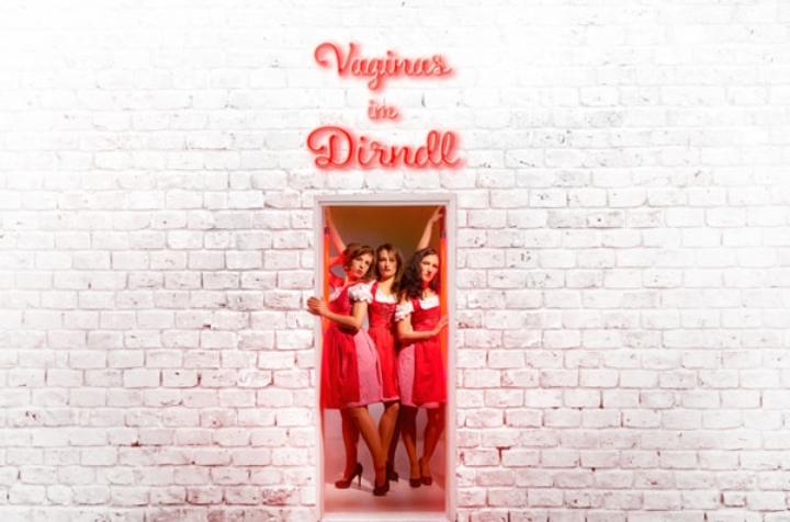 Vaginas im Dirndl