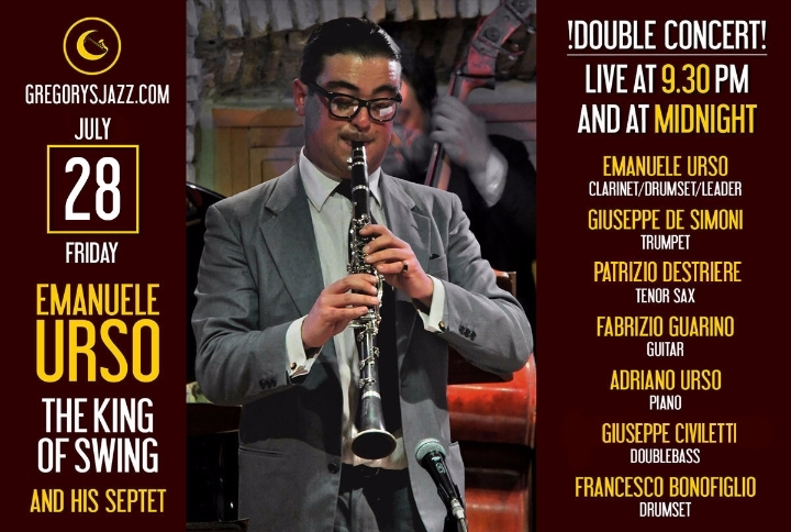 "Emanuele Urso ""The King of Swing"" doppio conc"