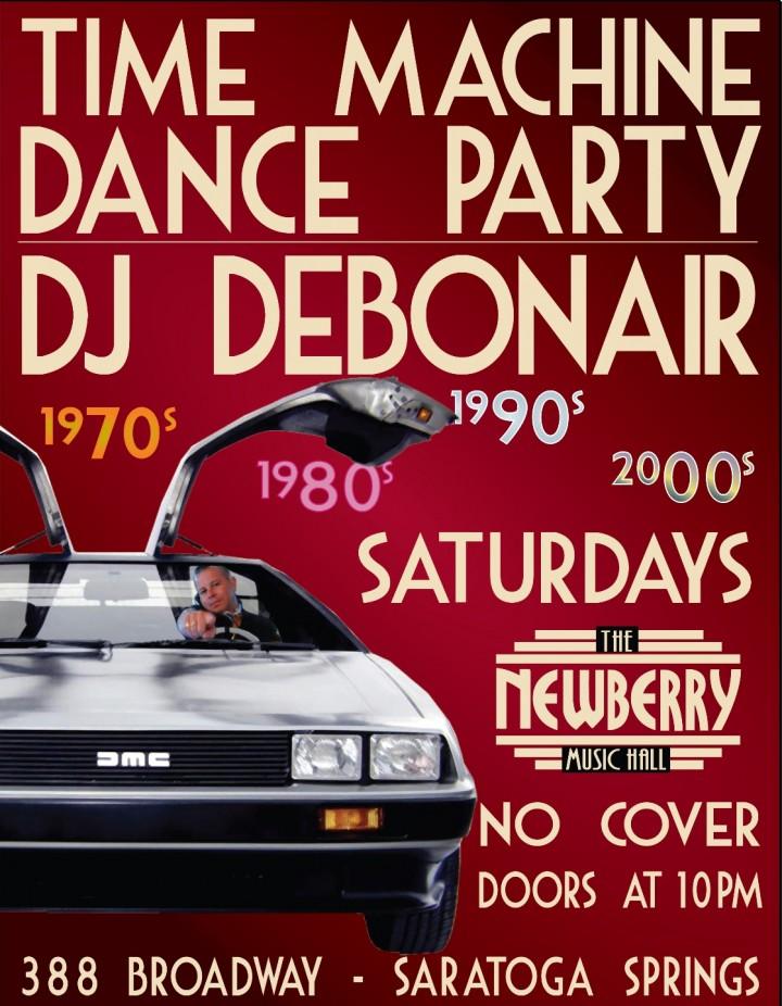 Time Machine Dance Party with DJ Debonair