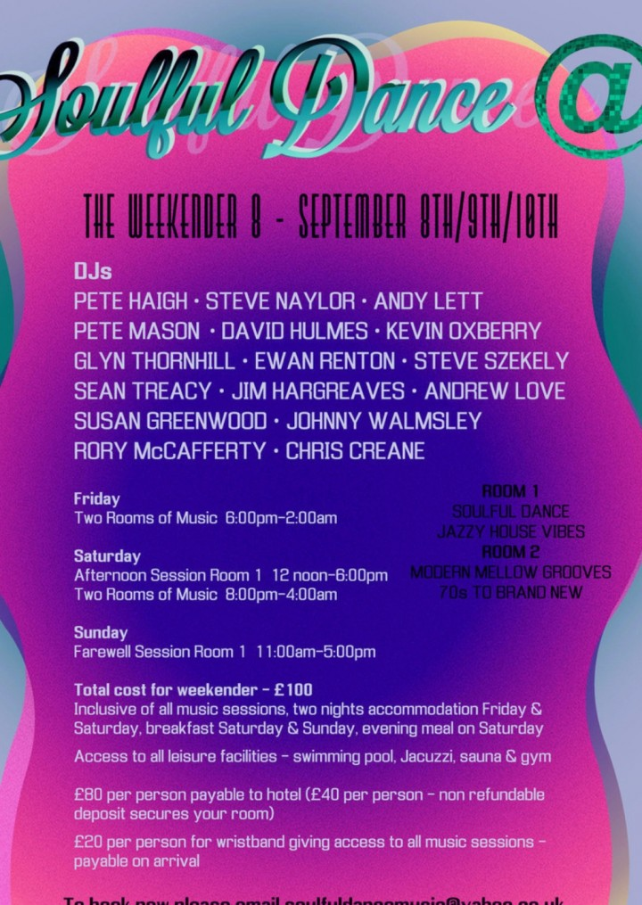 """Soulful Dance @ """"The Weekender 8"""""""