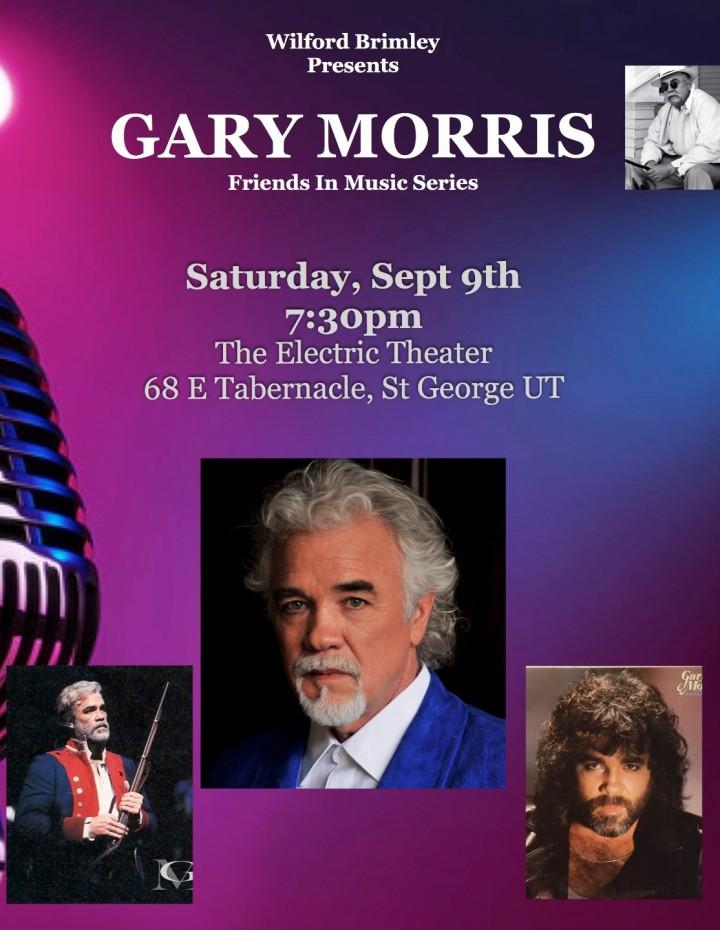 Gary Morris (Friends in Music Series presents