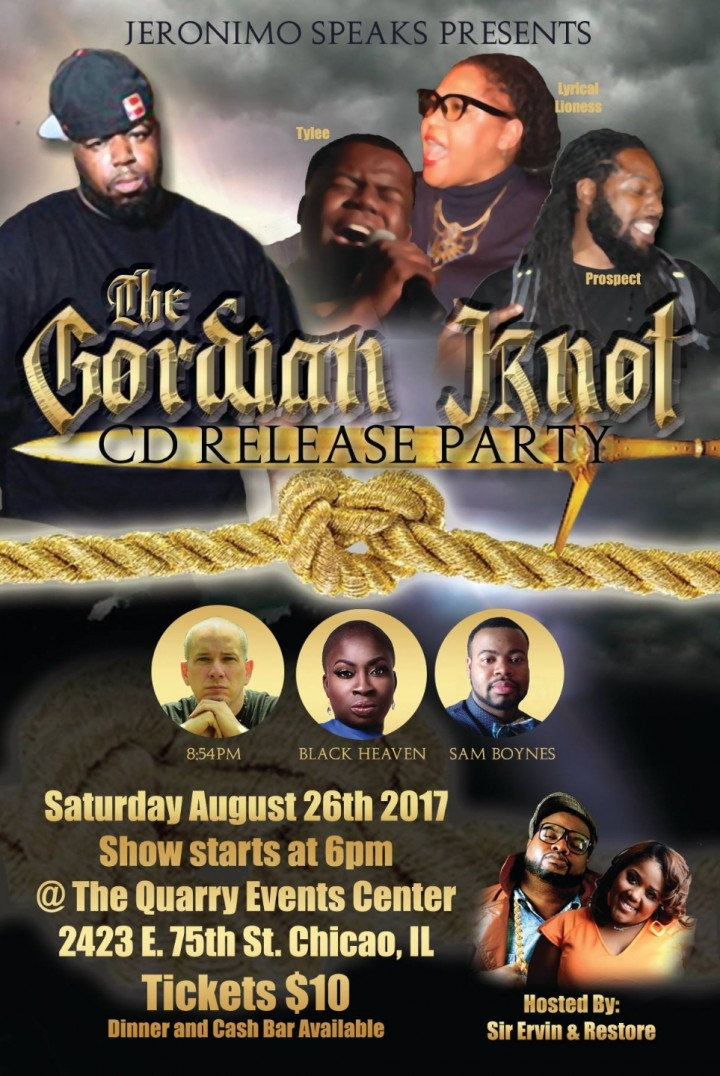 The gordian knot cd release party
