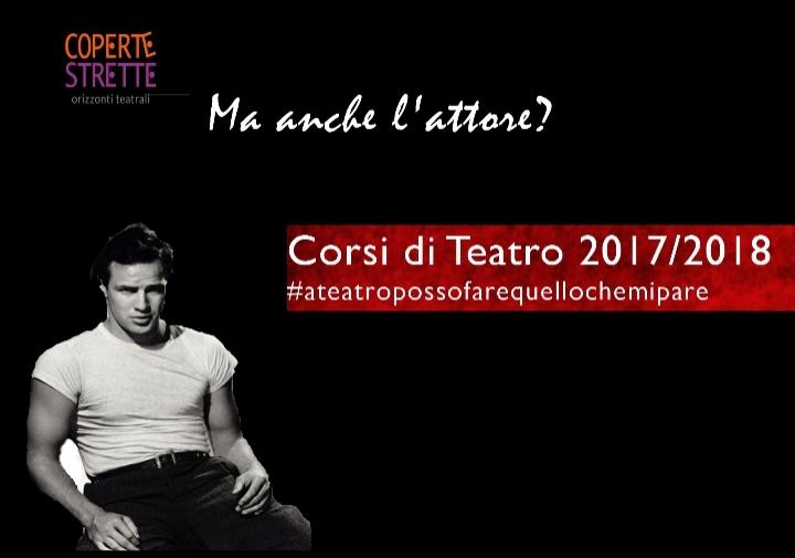 CORSI DI TEATRO 2017/2018