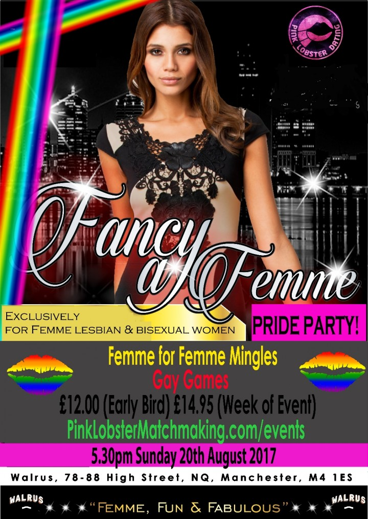 Manchester Pride Femme Lesbian Singles Mingle