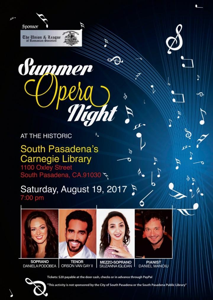 Opera Summer Night