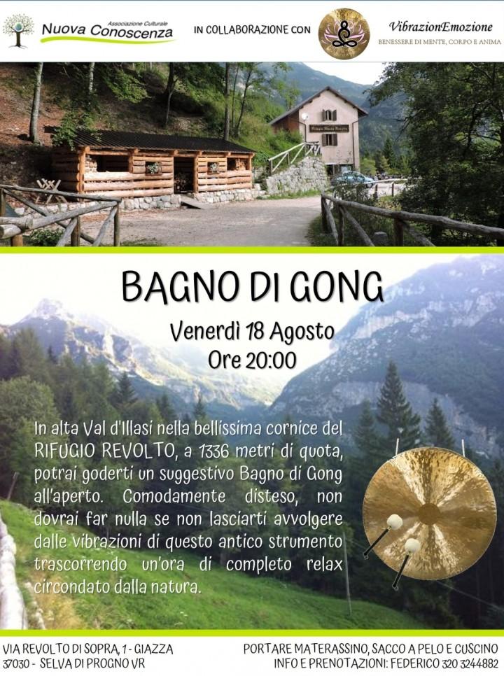 Bagno di gong al rifugio revolto selva di progno 18 - Bagno di gong effetti negativi ...
