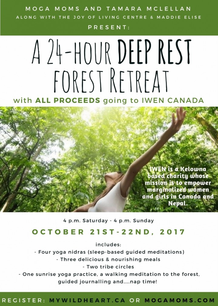 A 24 Hour Deep Rest Forest Retreat