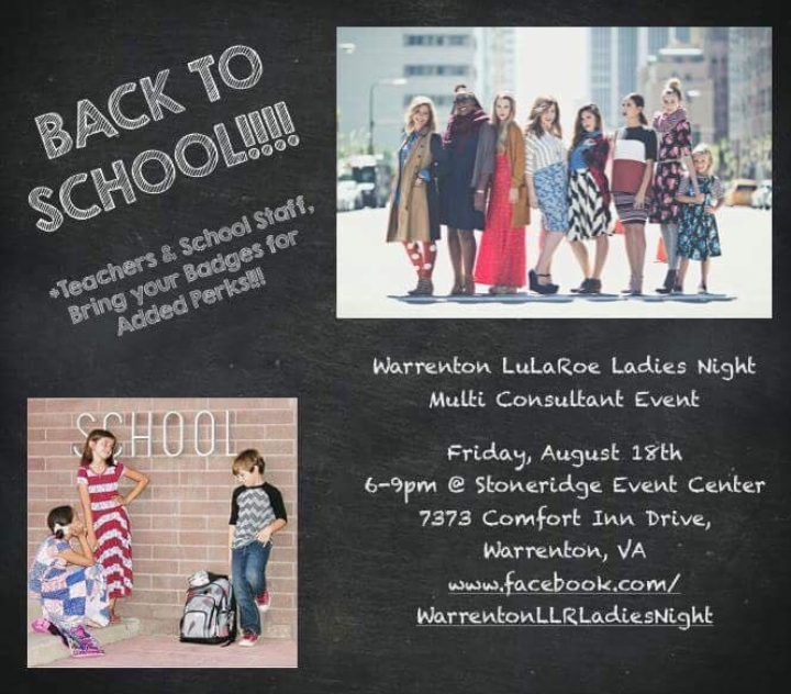 LuLaRoe Ladies Night