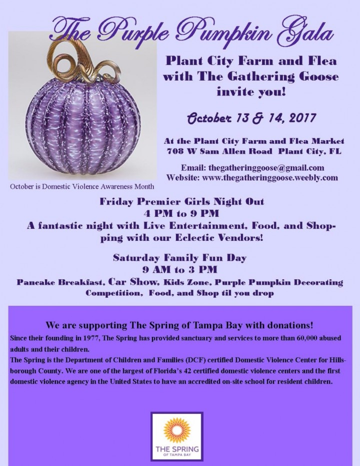 The Purple Pumpkin Gala with The Gathering Goose