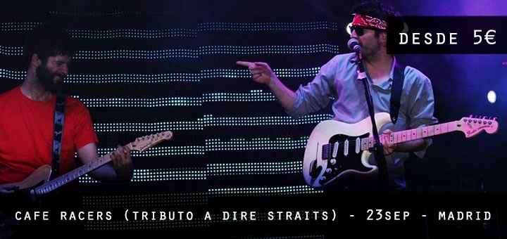 Cafe Racers (tributo a DIRE STRAITS)