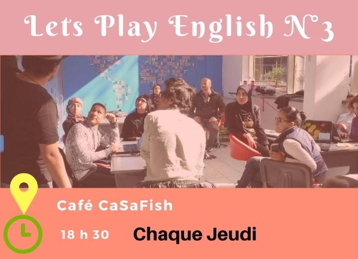 CasaBlanca Let's Play English N°3