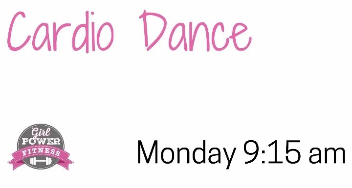 Monday 9:15 am Cardio Dance