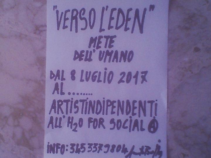 """VERSO L'EDEN"" di ANNAMARIA DE BELLIS"