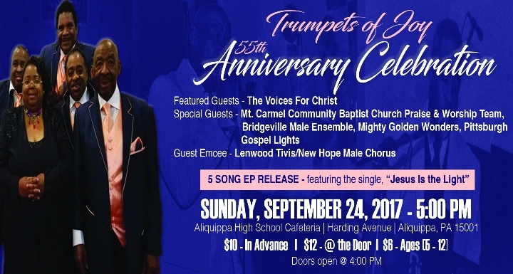 Trumpets of Joy 55th Anniversary Celebration