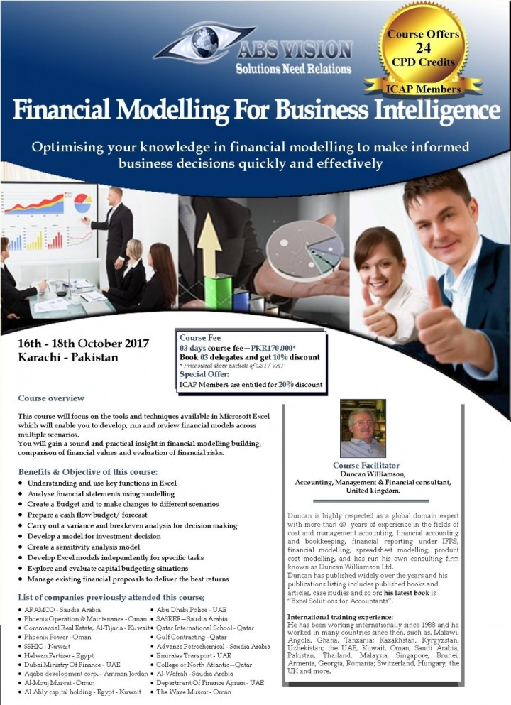 Financial Modelling With Business Intelligenc