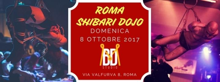 Roma Shibari Dojo - Lezione di shibari multil