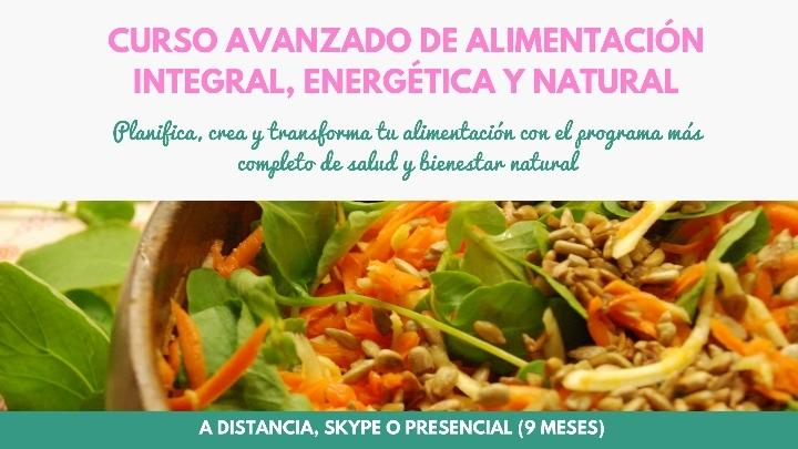 Curso alimentación integral, energética y nat