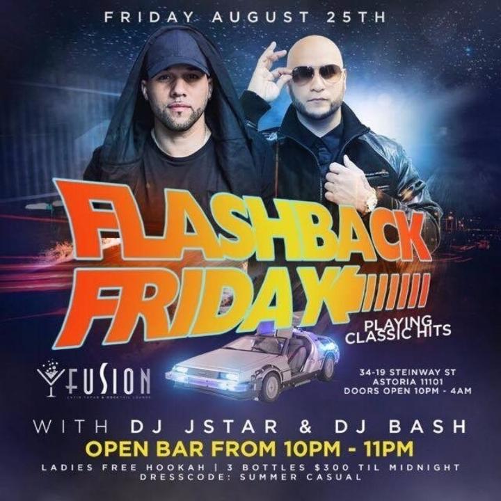 Flashback Friday at Fusion Astoria