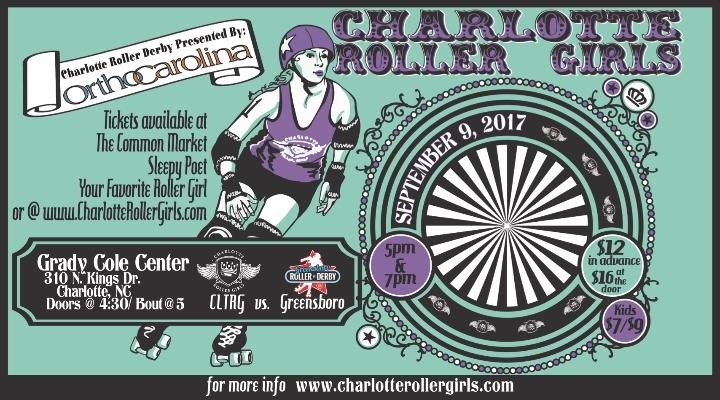 CLT Roller Derby Double Header!
