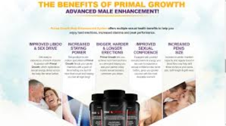 Primal Growth Male Enhancement - It helps to