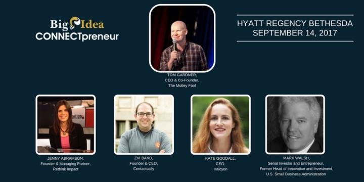 CONNECTpreneur Fall Forum, BETHESDA, Sept 14th, 2017