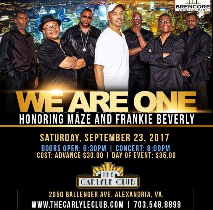 We Are One Live at the Carlyle Club