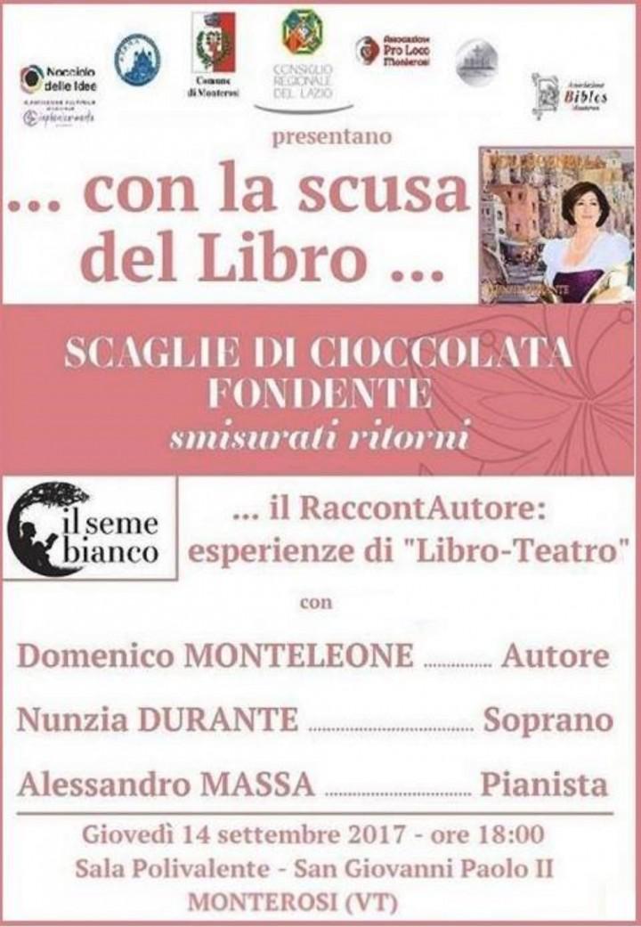 Scaglie di Cioccolata Fondente - Raccontautore (Il Libro-Teatro)