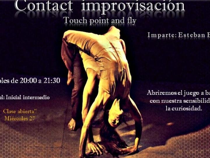 Clase abierta de contact improvisación