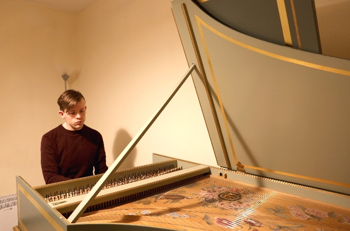Les Grâces: French baroque harpsichord music