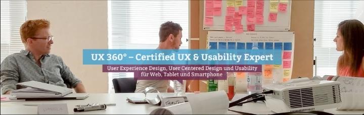 UX 360° – Certified UX & Usability Expert, Zurich