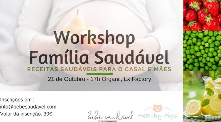 Workshop Família Saudável