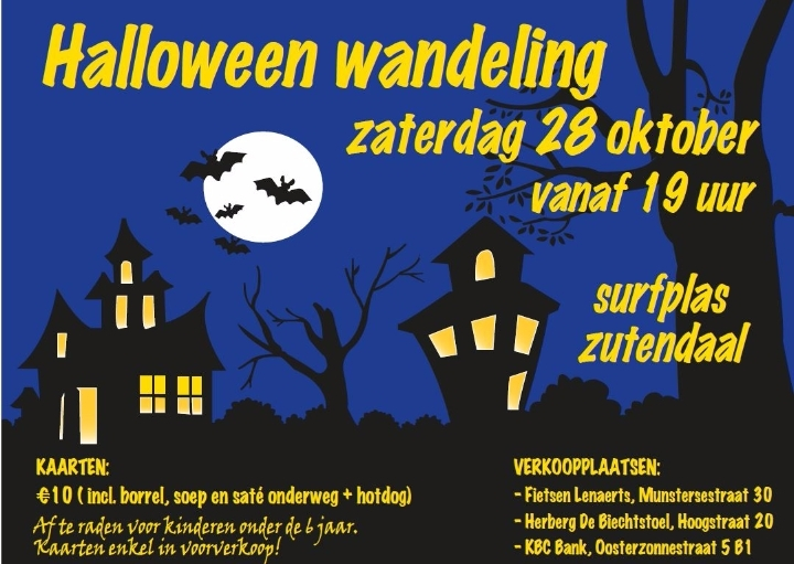 Halloween wandeling