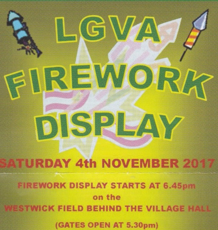 LGVA Firework Display