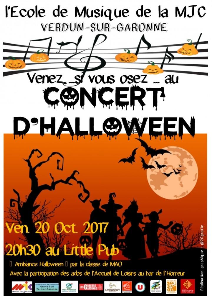 Concert d'Halloween - Ecole de Musique de la MJC
