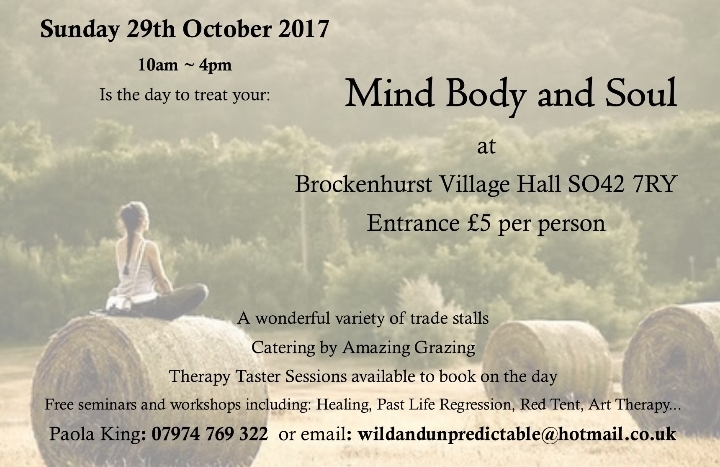 Mind Body Soul Day
