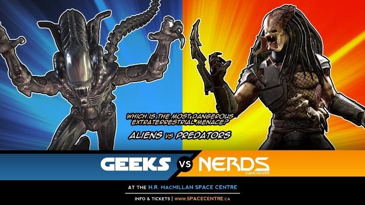 Geeks vs. Nerds Present: Aliens vs. Predator