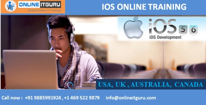 Learn to become application Develop with ios online training