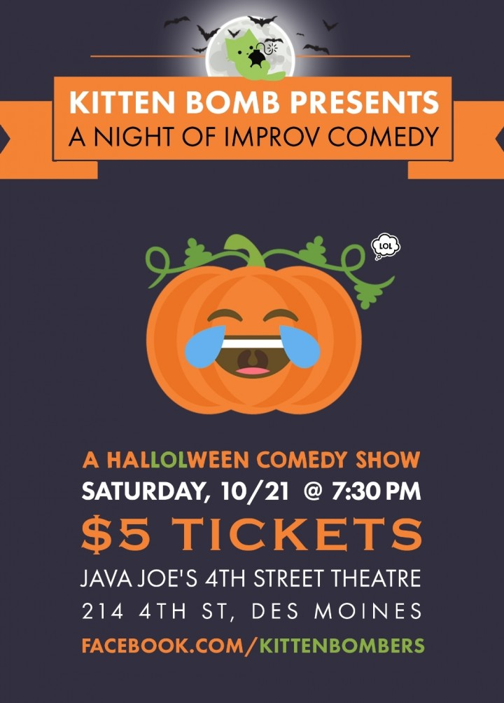 Kitten Bomb Presents: A Night of Improv Comedy!