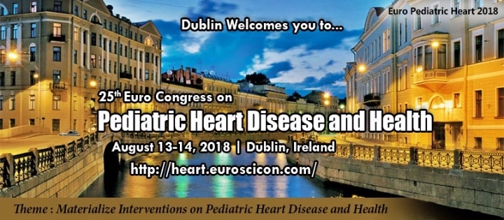 25th Euro Congress on Pediatric Heart Disease and Health