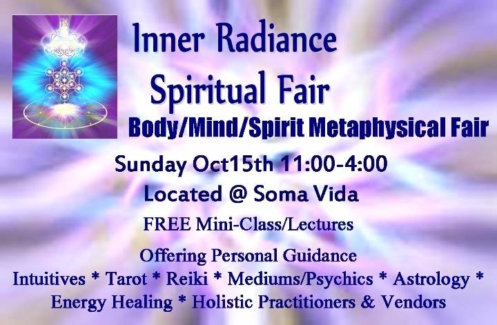 Inner Radiance Spiritual Fair