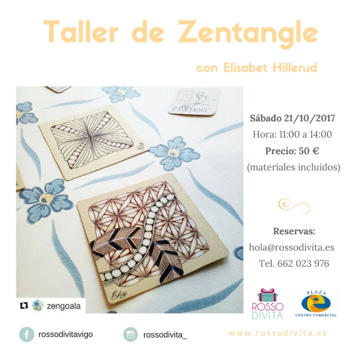 Taller de Zentangle (adultos)